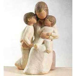 Quietly Encircled By Love Figurine