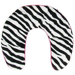 Zebra Print Neck Wrap with Thermal Gel Beads