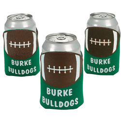Personalized Football Field Koozies