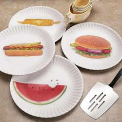 Photo-Real Picnic Plates