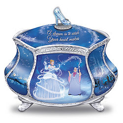 Cinderella's Dream Heirloom Porcelain Music Box