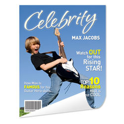 Personalized Magazine Cover Poster