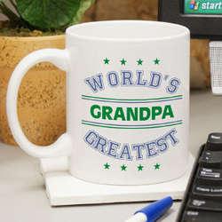 World's Greatest Blue Coffee Mug