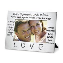 Corinthians Love Photo Frame