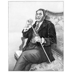 Salvador Dali Pencil Sketch Limited Edition