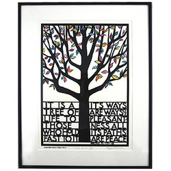 Framed Tree of Life Print
