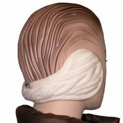 180s Women's Cable Knit Ear Warmers