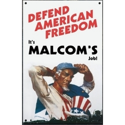 Personalized American Freedom Sign