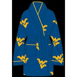Ladies West Virginia All Over Print Cozy Robe