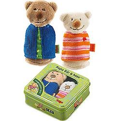 Papa Bear and Max Finger Puppet Game Set