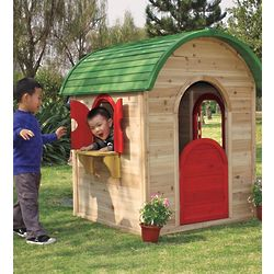 Wood Storybook Play Cabin