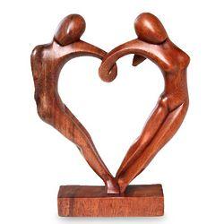 Loop of Love Wood Sculpture