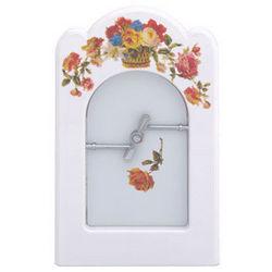 White Country Floral Pet Portal Frame Set