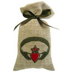 Claddagh Lavender Scented Sachet Bag