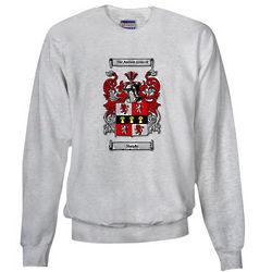 Personalized Coat of Arms Adult Crew Neck Sweatshirt