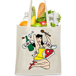 Wine and Dine Reusable Bag