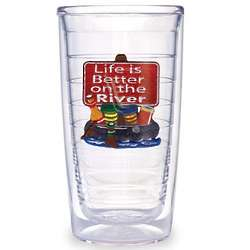 Life is Better on the River Tervis Tumbler Set