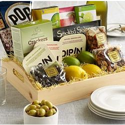 Cocktail Hour Gift Box with Personalized Ribbon