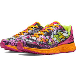 Kid's Grade School Orange and Pink Python 890v3 Shoes