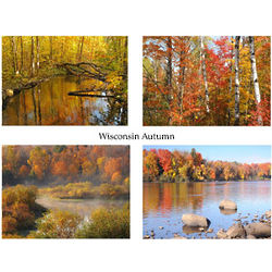 Wisconsin Autumn Photo Note Cards