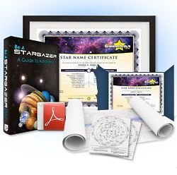 Name A Star Deluxe Gift Package
