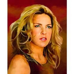 Diana Krall Oil Painting Giclee Art Print