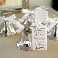 Mini Kissing Bells Favors