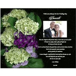 Personalized Wedding Poem for Bride from Groom