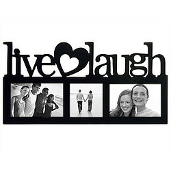 Live Love Laugh Wall Picture Frame Findgift Com