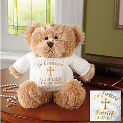 Personalized First Communion/Confirmation Teddy Bear