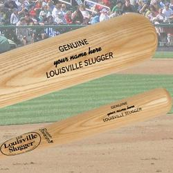 Personalized Louisville Slugger® Baseball Bat