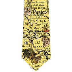 Pirate Silk Tie