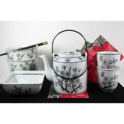 Asian Blossom Tea Gift Set