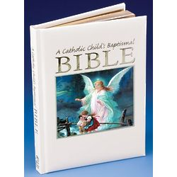 A Catholic Child's Guardian Angel Baptismal Bible