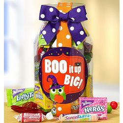 Boo It Up Big Trick or Treat Candy Jar