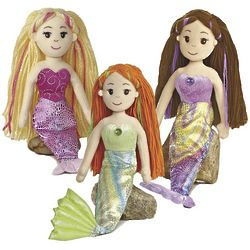 Sea Sparkles Mermaid Doll