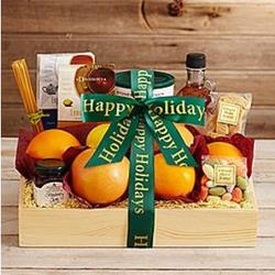Sunday Brunch Gift Box with Happy Holidays Ribbon