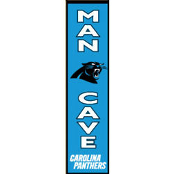 Carolina Panthers Man Cave Banner