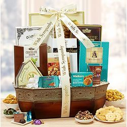 Care and Concern Sympathy Gift Basket