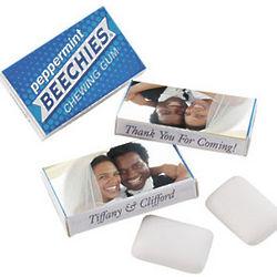Custom Photo Beechies Gum Wedding Favors