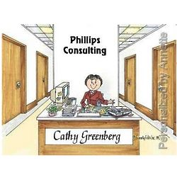 Administrative Assistant Personalized Cartoon