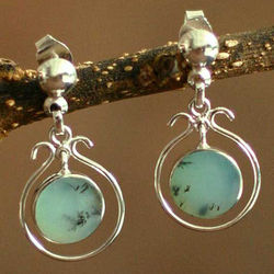 'Hold Me' Opal Dangle Earrings