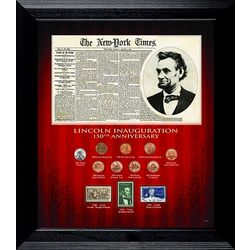 Abraham Lincoln Coin and Stamp Collection