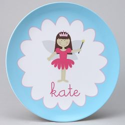 Personalized Fairy Princess Plate