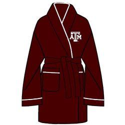Ladies Texas A&M Solid Cozy Robe