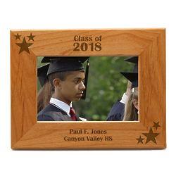 Personalized Graduation Wood Photo Frame