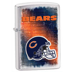 Personalized Chicago Bears Zippo Lighter