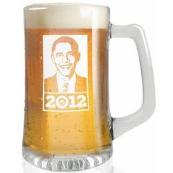 Obama 2012 Beer Mug