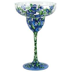 Blueberry Margarita Glass