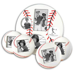 5-Piece Baseball Picture Frame